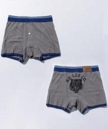 JNSJNM/【LEE】タイガープリントサーマルボクサーパンツ/500519629