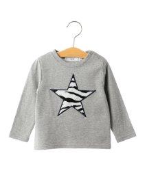 SHIPS KIDS/SHIPS KIDS:アニマルファー ロングスリーブ TEE(80~90cm)/500552037