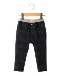 SHIPS KIDS/SHIPS KIDS:ダブルウエスト ブラックウォッチ ストレッチ パンツ(80~90cm)/500552046