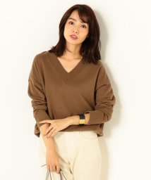 NIJYUSANKU(LARGE SIZE)/【洗える!】PEACH FRENCH TERRY カットソー/500555665