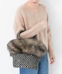 URBAN RESEARCH/caricature FUR BASKET BAG/500556336