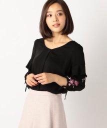 MISCH MASCH/袖刺繍ブラウス/500519018