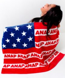 ANAP/ANAPロゴアメリカンフラッグブランケット/500526916