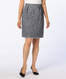 NOLLEY'S sophi/ループジャガードタイトスカート/500543444