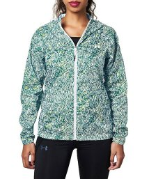 UNDER ARMOUR/アンダーアーマー/レディス/UA WOVEN PRINTED HOODIE/500557636
