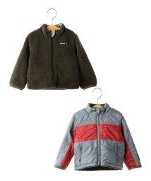 SHIPS KIDS/SHIPS KIDS:ボア×タフタ リバーシブル スタンドカラー ジャケット(80~90cm)/500558385