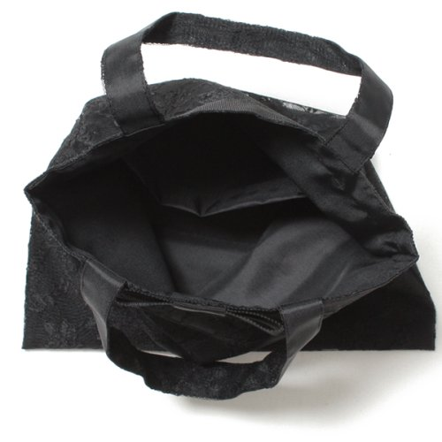 BLACK GALLERY(ブラックギャラリー)/【ブラックフォーマル・喪服・礼服・葬式・入学式・卒業式・セレモニー・七五三・お受験】日本製 レースが美しいシンプルフォーマルサブバッグ/WB1008_img02