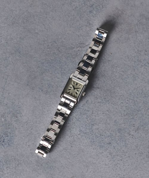 UNITED ARROWS(ユナイテッドアローズ)/UAB スクエア メタル 腕時計/17436990638_img01