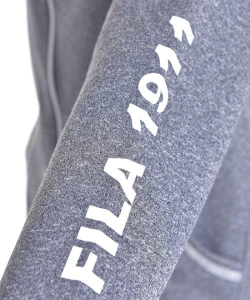 FILA(フィラ)/杢リバーメッシュフルジップパーカー/416612_img09