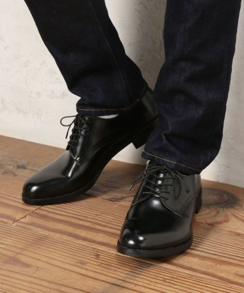 green label relaxing(グリーンレーベルリラクシング)/BC LTHER 5EYE P-TOE シューズ/32316991290_img12