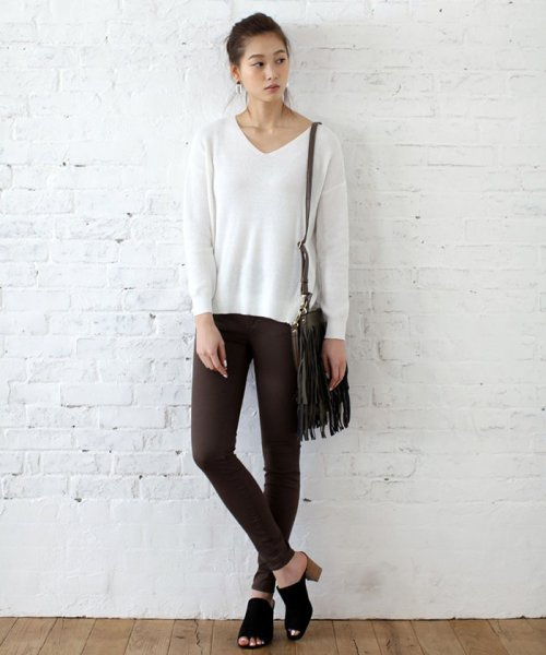AZUL by moussy(アズールバイマウジー)/【吸水速乾】A Perfect Skinny 3/2509SY310090_img03
