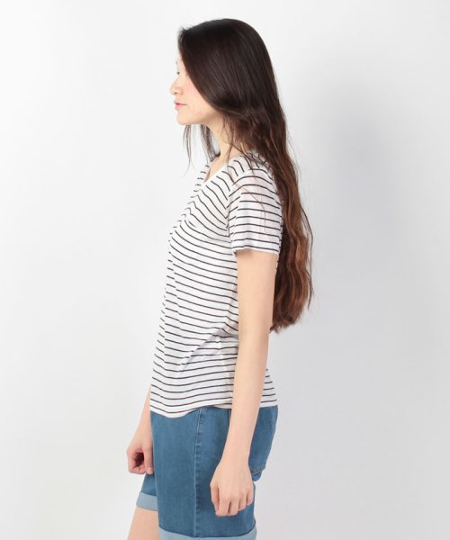 WEGO(ウィゴー)/WEGO/リネンモダールVネックTシャツ/BS16SM04L006_img06