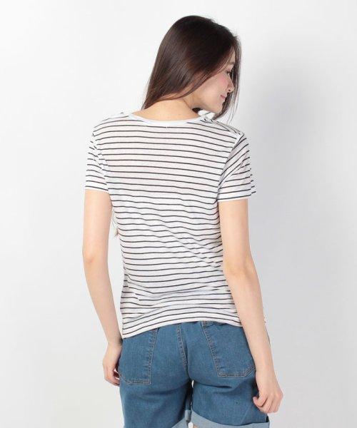 WEGO(ウィゴー)/WEGO/リネンモダールVネックTシャツ/BS16SM04L006_img07