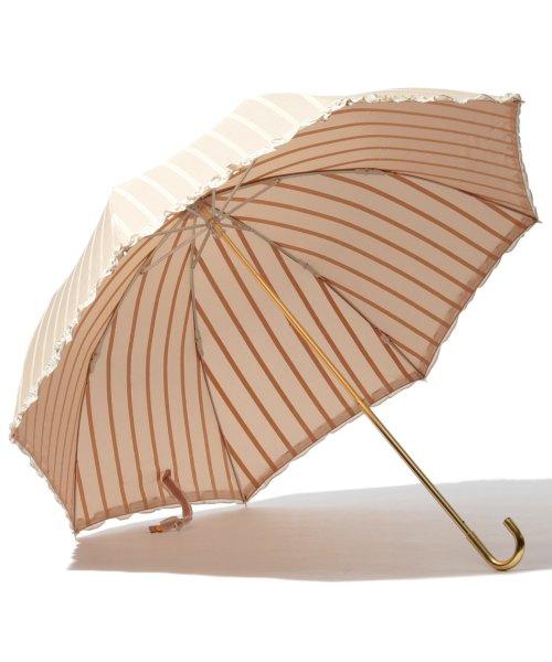 pink trick(ピンクトリック)/雨晴兼用 折傘 (UVカット&軽量) ストライプ/34452_img01