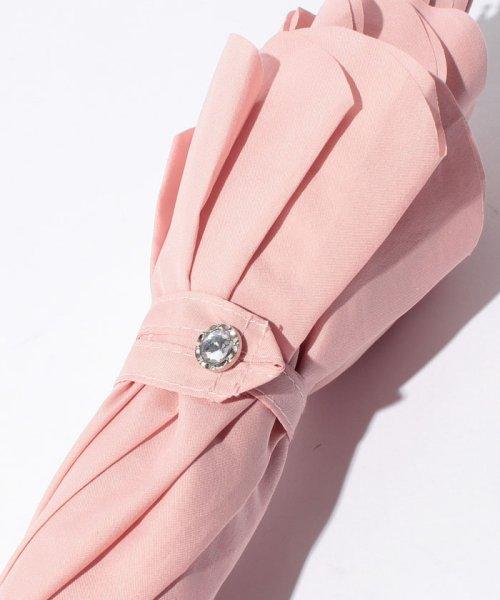 pink trick(ピンクトリック)/雨晴兼用 長傘 (UVカット&軽量) カラフルリボン/34137_img02