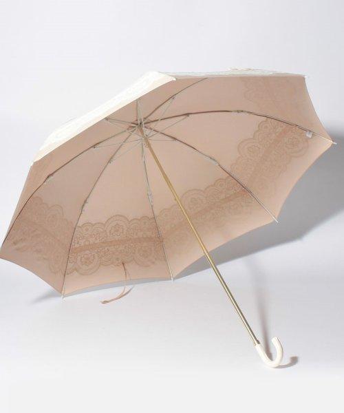 pink trick(ピンクトリック)/雨晴兼用 折傘 (UVカット&軽量) レース&リボン/34785_img01