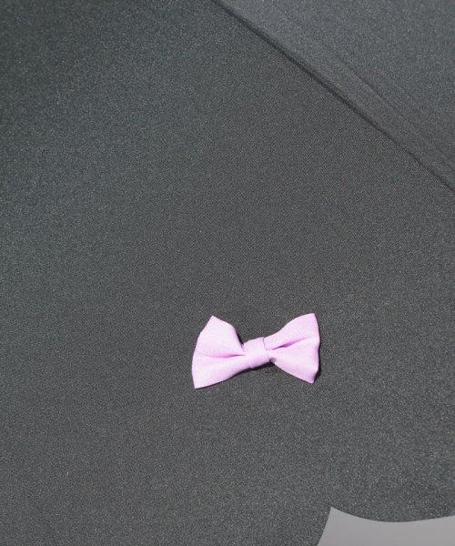 pink trick(ピンクトリック)/雨晴兼用 長傘 (UVカット&軽量) カラフルリボン/39636_img04