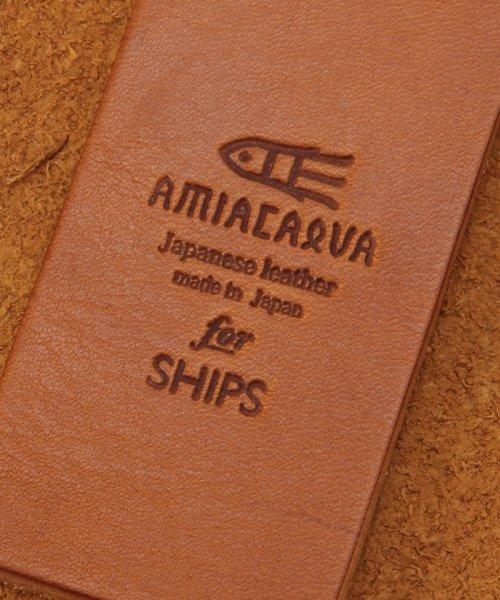 SHIPS MEN(シップス メン)/AMIACALVA for SHIPS: 栃木レザー キーケース■/110030482_img03