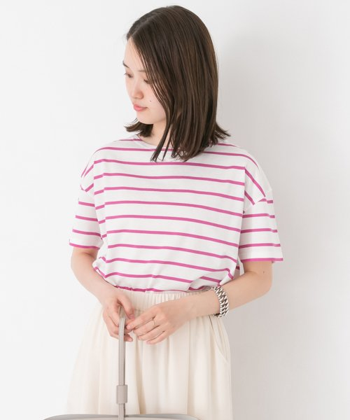 URBAN RESEARCH OUTLET(アーバンリサーチ アウトレット)/【UR】60/2天竺ボーダーTシャツ  【アーバンリサーチ】/UR6521S001_img01