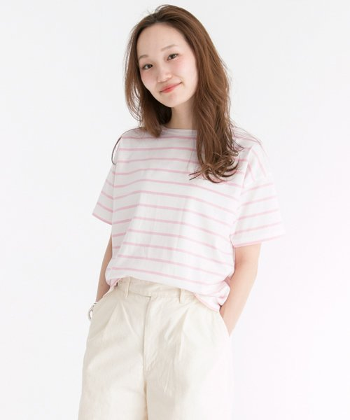 URBAN RESEARCH OUTLET(アーバンリサーチ アウトレット)/【UR】60/2天竺ボーダーTシャツ  【アーバンリサーチ】/UR6521S001_img07
