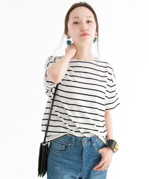 URBAN RESEARCH OUTLET(アーバンリサーチ アウトレット)/【UR】60/2天竺ボーダーTシャツ  【アーバンリサーチ】/UR6521S001_img10