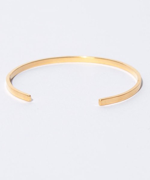 CLANE(クラネ)/SLIM PLATE BANGLE GOLD/111363071_img02