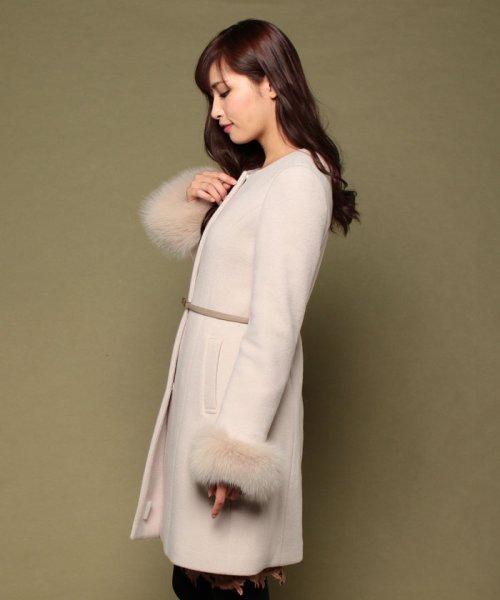 PROPORTION BODY DRESSING(プロポーション ボディドレッシング)/【AneCan 12月号掲載】ベルト付ノーカラーコート/1216252002_img04