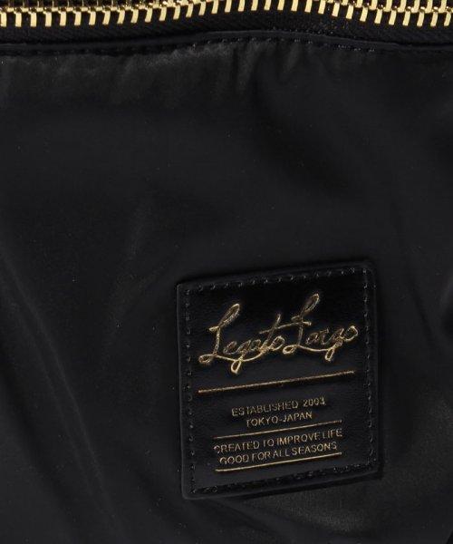 Legato Largo(レガートラルゴ)/【InRed/Mart3月号】【Legato Largo】ナイロン×ゴールドメタルZIPデイパック/LHB1021_img04