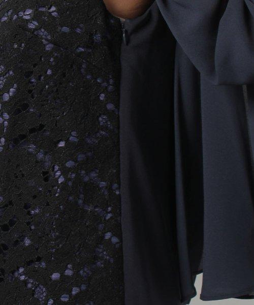 form forma(フォルムフォルマ)/【結婚式・お呼ばれ対応・2WAY】ケープ付きレースワンピース/0501313_img11