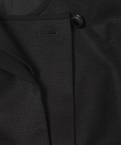 form forma(フォルムフォルマ)/【勝山織】ダブルショールカラーブラックフォーマルスーツ/0603604_img14