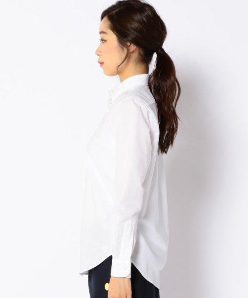 SHIPS WOMEN(シップス ウィメン)/RIKACO for SHIPS: ALBIATEオックスボタンダウンシャツ/311140314_img02