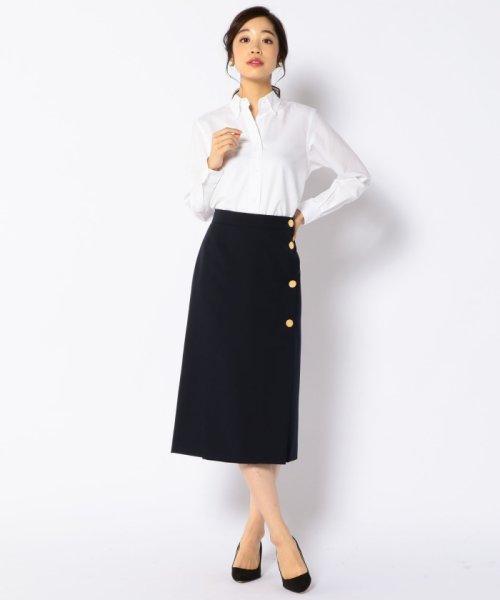 SHIPS WOMEN(シップス ウィメン)/RIKACO for SHIPS: ALBIATEオックスボタンダウンシャツ/311140314_img04