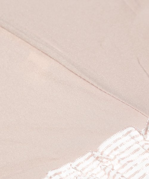 pink trick(ピンクトリック)/雨晴兼用 3段折傘 (UVカット&軽量) ボーダーフリル/84960_img05