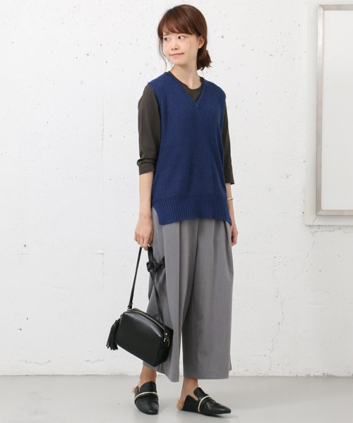 URBAN RESEARCH OUTLET(アーバンリサーチ アウトレット)/【WAREHOUSE】V/N畦ニットベスト2/WH6422M005_img02