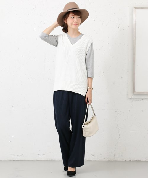 URBAN RESEARCH OUTLET(アーバンリサーチ アウトレット)/【WAREHOUSE】V/N畦ニットベスト2/WH6422M005_img03