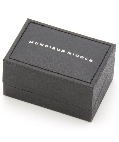 MONSIEUR NICOLE(ムッシュニコル)/スカルモチーフラペルピン/6462-7835_img01