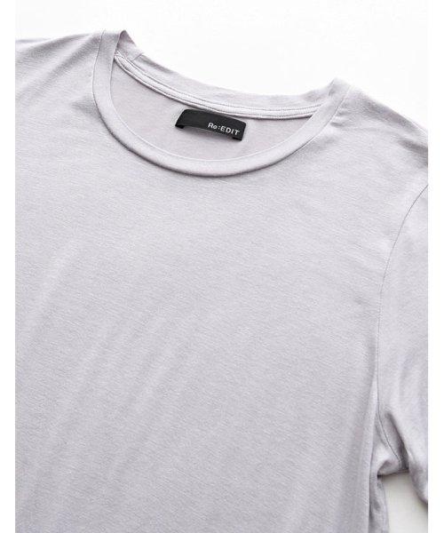 Re:EDIT(リエディ)/シンプルTシャツ×バンダナ2点SET/119749_img09