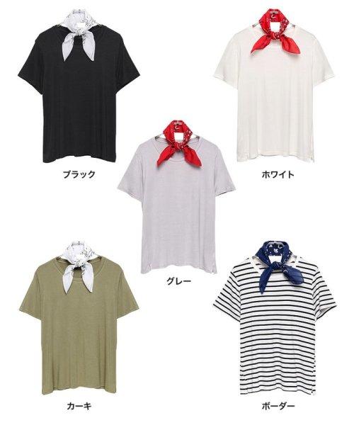 Re:EDIT(リエディ)/シンプルTシャツ×バンダナ2点SET/119749_img10