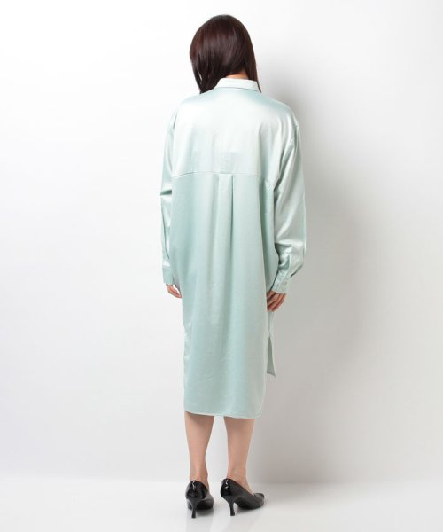 URBAN RESEARCH OUTLET(アーバンリサーチ アウトレット)/【KBF】サテンロングシャツワンピース/KC6226S020_img02