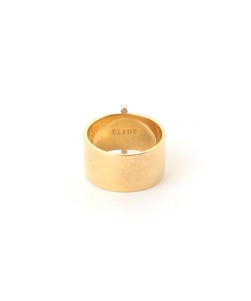 CLANE(クラネ)/WIDE PLATE BAR RING/111363541_img01