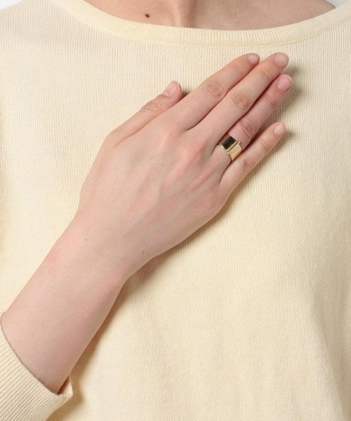 CLANE(クラネ)/WIDE PLATE BAR RING/111363541_img03