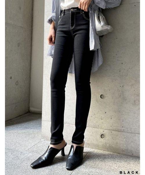 Re:EDIT(リエディ)/激伸びデニムスキニーパギンス/114029_img05
