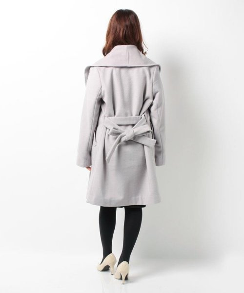 Bou Jeloud(ブージュルード)/◆ざっくり羽織ってサマになる◆ダブルフェイスガウンコート/564919_img04