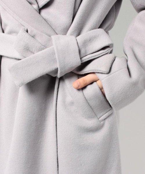 Bou Jeloud(ブージュルード)/◆ざっくり羽織ってサマになる◆ダブルフェイスガウンコート/564919_img06