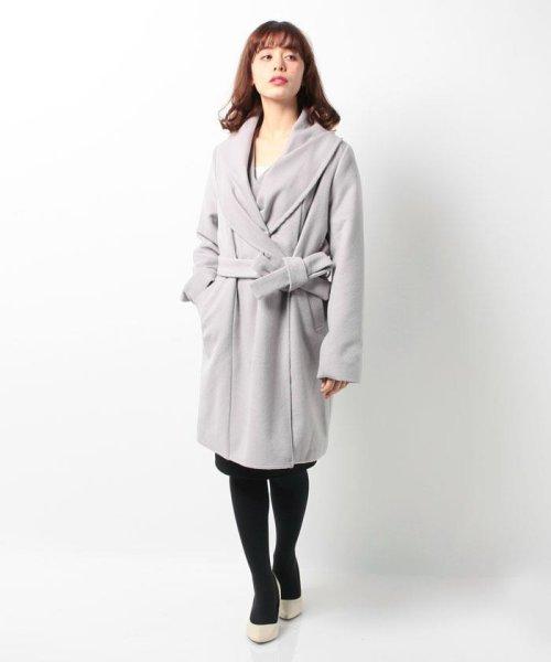 Bou Jeloud(ブージュルード)/◆ざっくり羽織ってサマになる◆ダブルフェイスガウンコート/564919_img08