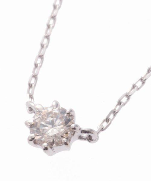 DECOUVERTE(デクーヴェルト)/18KWG 0.1ct ダイヤモンド ネックレス H&C/16110895000610_img04
