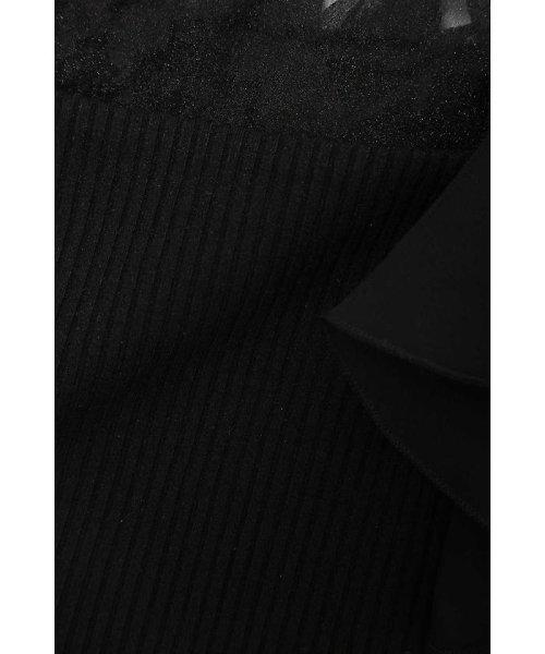 PROPORTION BODY DRESSING(プロポーション ボディドレッシング)/★フラワーリブシフォン袖ラッフルカットソー/1217160303_img06