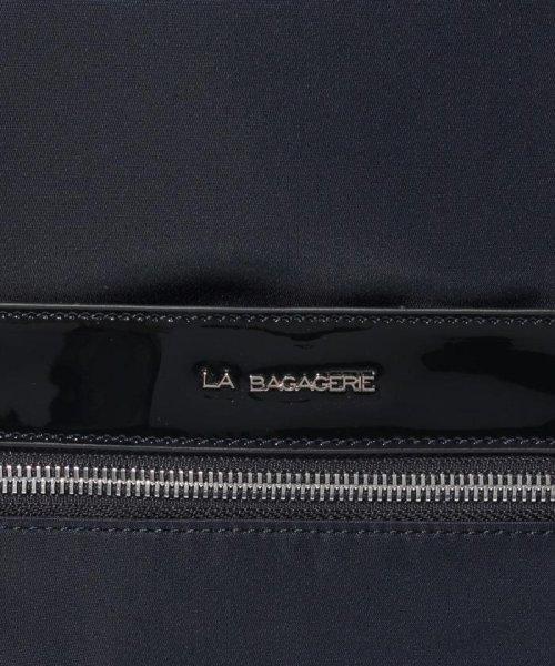 LA BAGAGERIE(ラ バガジェリー)/ナイロン×エナメル リュックサック/B610204_img04