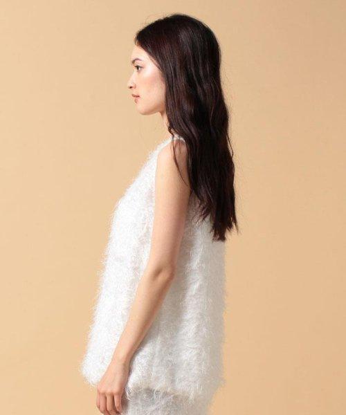 beautiful people(ビューティフルピープル)/【セットアップ対応商品】cut fur cloth top/1715110001_img03