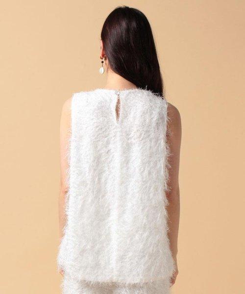 beautiful people(ビューティフルピープル)/【セットアップ対応商品】cut fur cloth top/1715110001_img04
